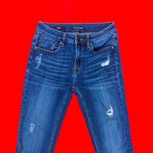 VIGOSS BLUE WASH DENIM SKINNY JEANS